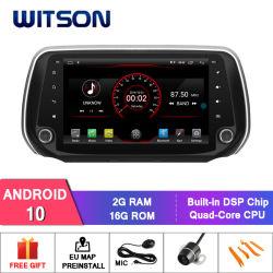 Vierradantriebwagen-Kern des Witson Android-10 10.2 Zoll-grosser Bildschirm-Auto-DVD-Spieler für Hyundai Santa Fe 2018
