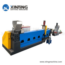 폐물 PP/PE/PET/PVC/ABS/HDPE/LDPE 필름 백 펠레티징/펠레티저