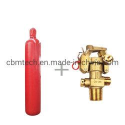 68L CO2 가스 실린더가 최고의 품질로 실린더 소방