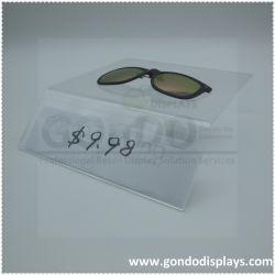 Gafas de sol acrílicas al por mayor Countertop Eyewear Display con logotipo publicitario