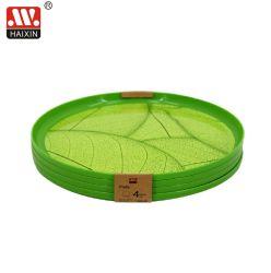 Plastikplatte oder Tellersegment für Tafelgeschirr und Essgeschirr