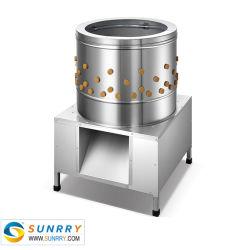 En acier inoxydable Plucker de volaille, de poulet épilation Machine