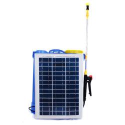 Taizhou Happy Farm goede kwaliteit 16L/18L/20L Agricultural Knapsack/rugzak Battery Electric Type pomp 2 In1 Power Solar Sprayer