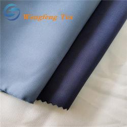 Polyester 45% van 55% Stof van de Voering van de Keperstof van de Viscose de Tweekleurige voor Eenvormig