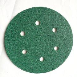 Bonne qualité à faible prix Green Crochet et boucle de papier de verre pour le métal et bois