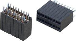 Embase femelle 2,54 mm h=3,5 Type CMS simple rangée, Molex //JAE connecteur JST