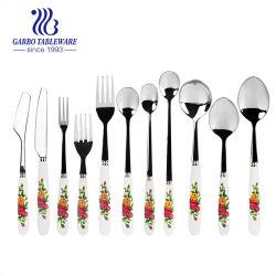 La vaisselle de table en acier inoxydable 304 Cuillère/bras de fourche/Knife dîner ensemble de couteaux (SC014)
