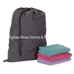 Sacchetto grigio della lavanderia del Drawstring del sacchetto dell'organizzatore di corsa
