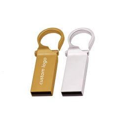 중국 저가 플래시 드라이브 USB 128MB 256MB 메탈 키 링 펜드라이브 1GB 2GB 4GB 8GB 썸 드라이브/USB 펜 드라이브
