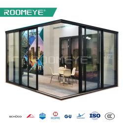 As2047 Aama101の熱壊れ目のアルミニウム二重ガラスマルチパネルのコーナーのアルミニウムテラスのドア/引き戸