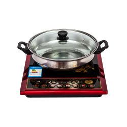 Elektromagnetischer erhitzenCooktop kommerzieller heißer Potenziometer-kleiner Gewindebohrer-Ofen-Küche-Induktions-Kocher