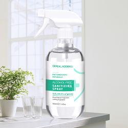Hot Selling desinfectiemiddel Spray Fogger Liquid gebruik in kledingmeubels -500ml alcoholvrij
