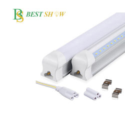 600mm 1200mm 유리 플라스틱 T8 18W LED 튜브(비품 포함