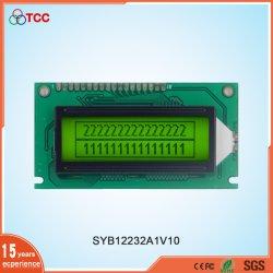 Промышленные ЖК-дисплей 122x32 графический Stn/позитивные 18контакты модуля дисплея 122*32 Yellow-Green ЖК-экрана дисплея