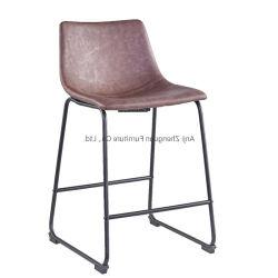북유럽 작풍 로비 거실 가구 의자 의자 (ZG21-010)를 식사하는 현대 가죽 대중음식점 다방