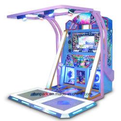 音楽ゲーム・マシン2プレーヤーのアーケード・ゲームのダンスのゲーム・マシン55のインチLCD