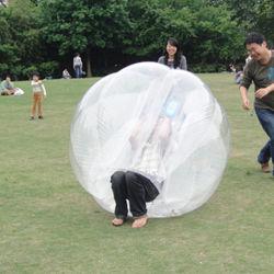 Parque Infantil para crianças e adultos de futebol globo insuflável