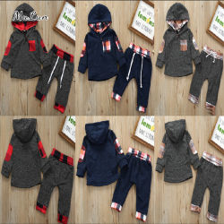 2020 Trendy Pasgeboren Vastgestelde Kostuum van de Jongen van de Zuigeling van het Kostuum van de Baby van de Zuigeling Vastgestelde of de Mooie Leuke Slijtage van het Meisje