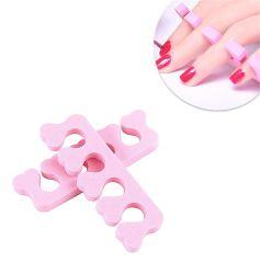 Espuma macia esponja separadores de convergência dedo populares divisores do separador de Arte de unhas Manicure Pedicure Unha Ferramentas de gel