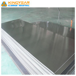 Cc мельница отделка из полированного алюминия и алюминиевых сплавов простой лист пластины A1050 1060 1100 3003 5005 5052 5083 6061 7075