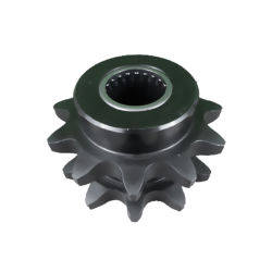 La rueda dentada de la excavadora 420 14t Moto 160 piezas de repuesto de la soldadura de la impresora en el engranaje Bike agujero cuadrado sentado soporte de acero inoxidable