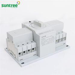 Einphasiges Druckluftanlasser-automatischer Übergangsschalter-manueller Wechselschalter 63A 2p 4p Druckluftanlasser-Generator-Controller