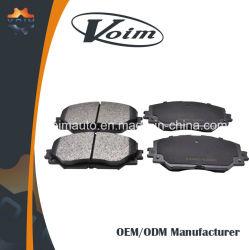 Fornecedor de fábrica do Sistema de Freio Dianteiro Traseiro Carro pastilhas de freio universal para a Toyota B