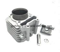 De Cilinder van de Motorfiets van de Motor van de Delen van de motorfiets voor Cg125 wordt geplaatst die