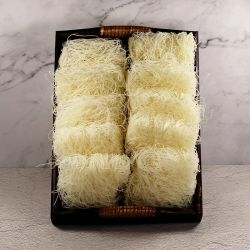 Fabrik-Preis einfache kochende Longkou weiße dünne Suppennudeln-Reis-Nudel Chinaes Suppennudeln