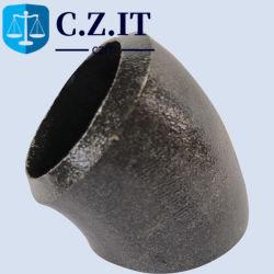 API 5L X70 20 градусов Sch60 колено окраска черного цвета