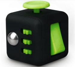 6 Lados promocionais divertido adulto resistência infinita ansiedade Magic Anti Stress Fidget Cube Brinquedos de Descompressão de negócios