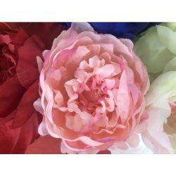 Accessori di fioritura dei cappelli del pattino di unione del Peony delle teste di fiore Handmade