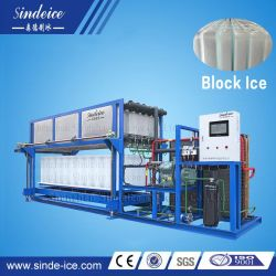 Macchina del blocco di ghiaccio della macchina di fabbricazione di ghiaccio della fabbrica della Cina con servizio