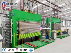 Furnierholz-heiße Presse-Maschine für hydraulische Holzbearbeitung