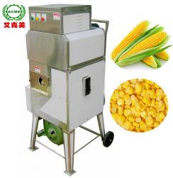 Acier inoxydable de maïs sucré frais décortiqueur le bombardement de maïs doux Prix de la machine