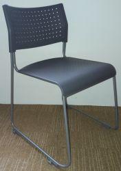강철 다리 플라스틱 뒤와 시트 사무실 회의 의자 학생 및 훈련 의자