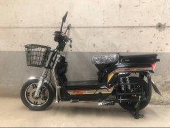 800W электрический скутер мотоцикл со складывающимися для установки в стойку