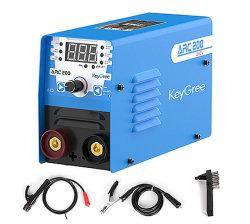 Mini Keygree Arc/MMA-200 1pH 220V pour la vente DC convertisseur numérique portable de l'IGBT Soudeur Machine de soudage