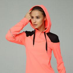 Salle de gym à Capuchon de haute qualité de l'usure femmes Sportswear veste Active