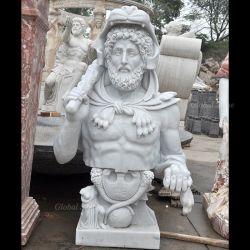 حياة - حجم رجل رخاميّة [غريك] رئيسيّة صدم تمثال ([غسبست-118])