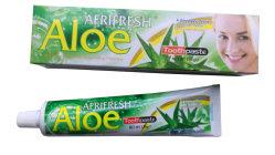 OEM-150g персонализированные полоска с алоэ вера травяной дешевых марок зубной пасты, предотвращает кариеса, бои плохое дыхание, бои налет, здоровые десны