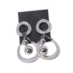 Alliage de bijoux de mode extraordinaire Earring avec pendentif ovale