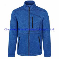 ManのためのOEM Logo Wool Knitted Pk Cation Double Warm Sports Wholesale Polyester Wool Fleece Jacket