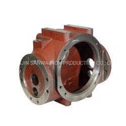 La fonderia di ISO9001 IATF16949 ha approvato l'azionatore/valvola/ricambi auto personalizzati/precisione che lavora pezzo fuso alla macchina grigio dell'OEM Cina della baia della botola/duttile del ferro personalizzato fornitore