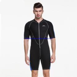 Ressort en néoprène 2mm Sbart costume manchon de fermeture à glissière avant Divig Shorty s'adapter à la plongée pour les hommes de natation de surf Wetsuit