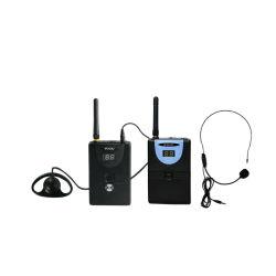 Microfones sem fio portátil pilhas secas e auriculares para salas de aula silenciosa