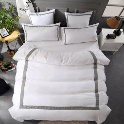 Hôtel de taille king collection linge de lit brodé de luxe