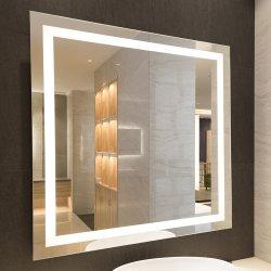 Nuevo Hotel de diseño espejos de baño Cuarto de baño de luz con LED