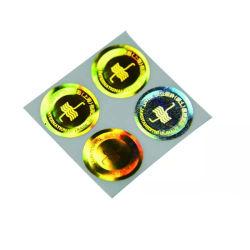 좋은 색깔 자필 각인 포일 레이블 자필 스티커 카드