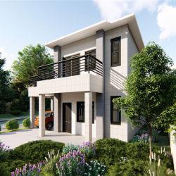 1500平方フィートは速い軽い3つの寝室が付いている鋼鉄によって組立て式に作られる家をアセンブルする